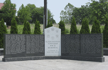 Susquehanna Township WWII Memorial