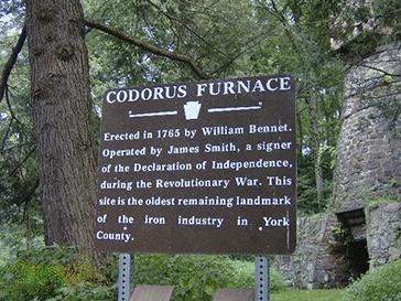 Hellam Township Codorus Furnace